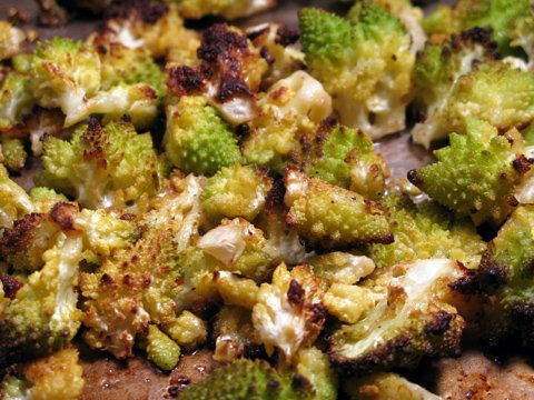 Roasted Romanesco Cauliflower