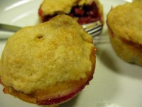Muffin-Tin Cherry Pies