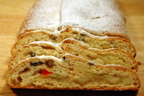 Christmas Stollen with Marzipan