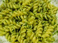 Kale Pesto with Fusilli